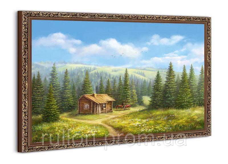 """Картина YS-Art BA586B """"Домик в лесу"""" 50x70"""