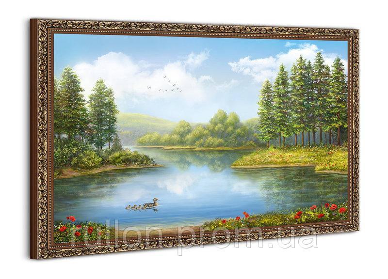 """Картина YS-Art BA591B """"Утки на воде"""" 50x70"""