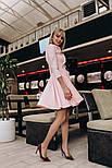 Женское изящное платье с юбкой-солнце (2 цвета), фото 7
