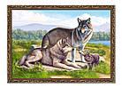 """Картина YS-Art BA600B """"Волки"""" 50x70       , фото 2"""