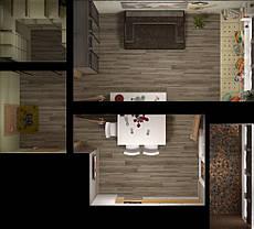 ЖК - Каховская Планировка 1-комнатной квартиры 43.37м2 (тип 1-43.37)