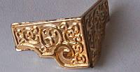 Ножка декор под сундучок золото