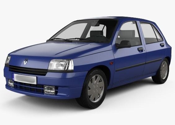 Лобовое стекло на Renault Clio (Хетчбек) (1990-1998)