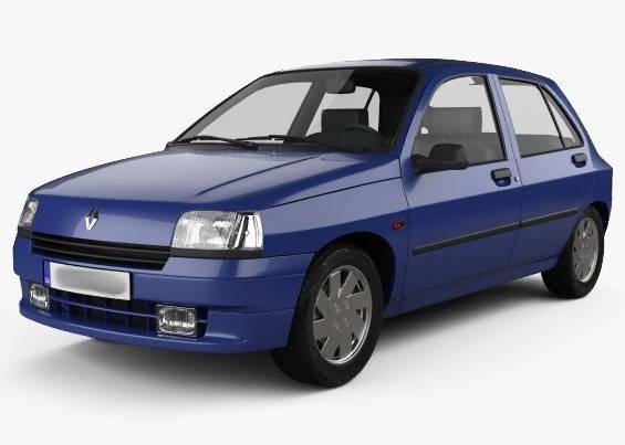 Лобовое стекло на Renault Clio (Хетчбек) (1990-1998) , фото 2