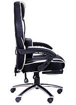 Кресло VR Racer Edge Omega черный/белый, фото 3