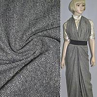 Твид костюмная черно-молочный с золотым люрексом (11773.002)