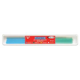Смужки шліфувальні №НК 1.050 (25 шт), для зняття надлишків матеріалу