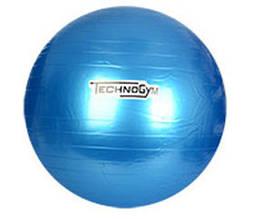 Мяч для фитнеса-75см MS 0983 (Синий)