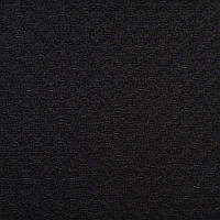 Жаккард черный в блестящие ромбы, ш.150 (11809.001)