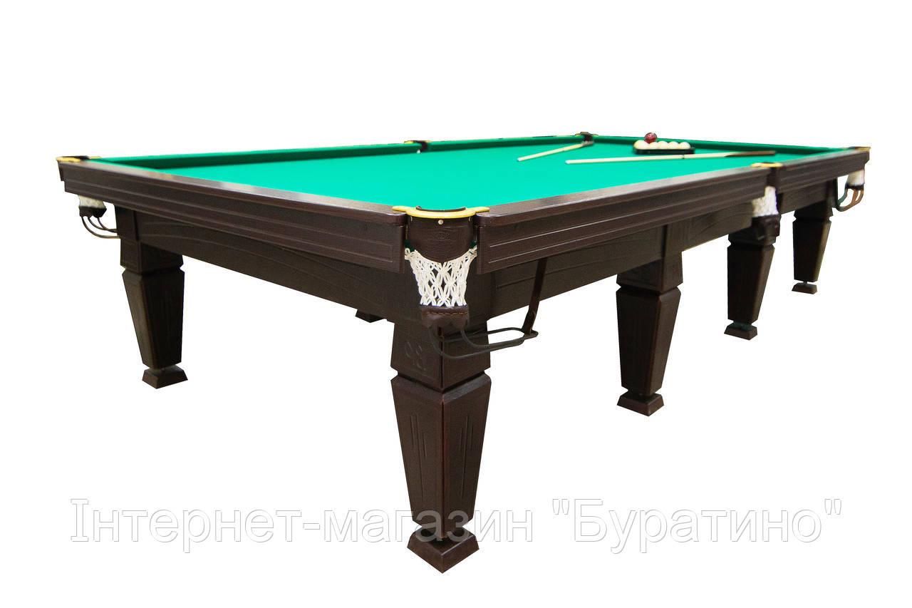 Бильярдный стол Магнат Люкс (Ардезия) 11 футов, фото 1
