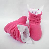 Тапочки «Коты» розово белые