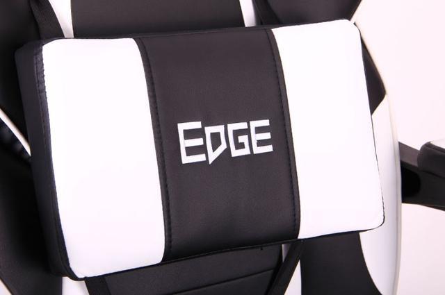 Кресло VR Racer Edge Omega черный/белый (Фото 8)