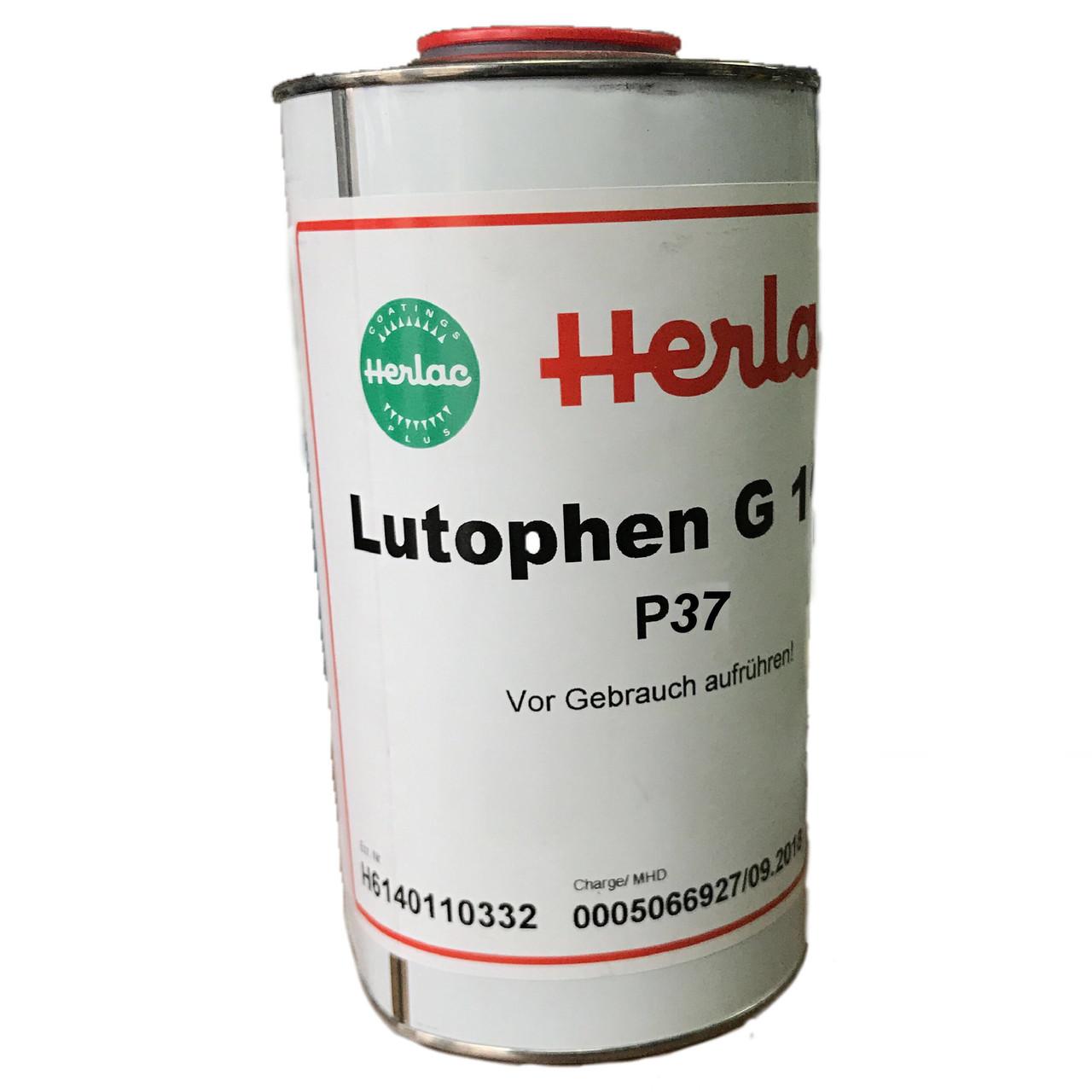 Нітролазурь Herlac Лютофен Р-37 1л Червоне дерево