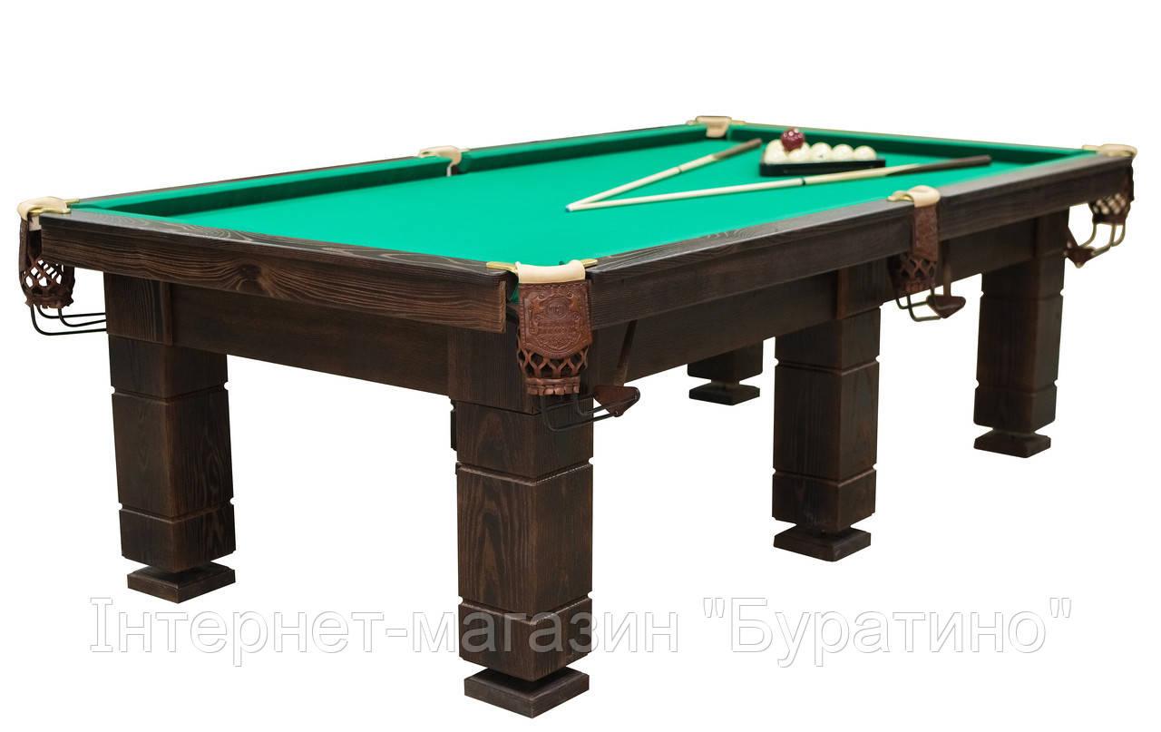 Стол для снукера Царский (Ардезия) 10 футов, фото 1