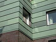 Патинированная кровельная медь Luvata Nordic Green (Финляндия)