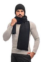 Комплект для чоловіків шапка і шарф