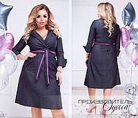 Платье джинсовое в расцветках 35126, фото 1