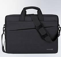 Сумка чехол Package для ноутбука 13 14 дюймов Черный ( код: 1310 )