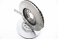 Тормозной диск передний 2.3 - 2.8 Гольф 4 , Бора