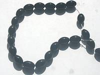 Купить бусины - черный хрусталь 10мм,  нитка-33шт