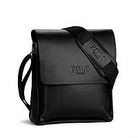 Мужская сумка через плечо POLO VIDENG 576-2 Black