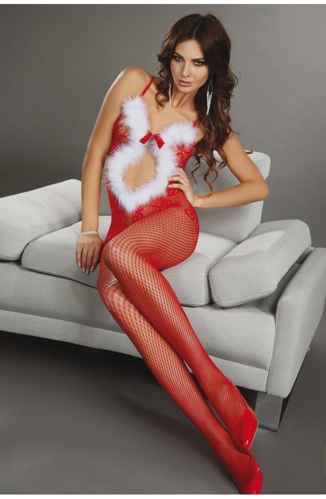 Новогодний бодикомбинезон Magali Christmas Livia corsetti Fashion