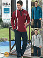 Домашняя мужская одежда Dika 4853 XL синий, фото 2