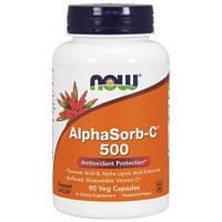 Now Foods, AlphaSorb-C 500, 90 вегетарианских капсул