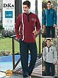 Домашняя мужская одежда Dika 4853 M синий, фото 2