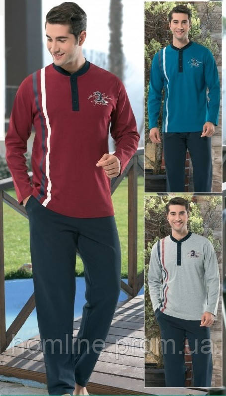 Домашняя мужская одежда Dika 4853 L синий
