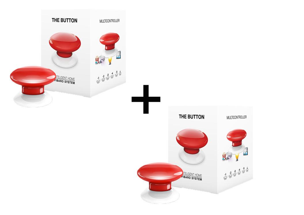Пара багатофункціональних кнопок FIBARO The Button