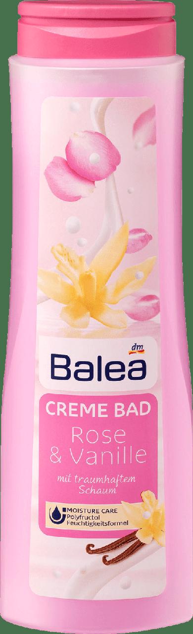 Крем-пена для ванны Balea Rose & Vanille, 750 ml.