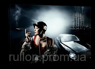 "Картина на холсте YS-Art XP016 ""Женщина с сигаретой"" 50x70"