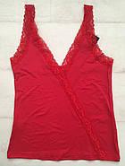 Красная пижама майка шортики, фото 3