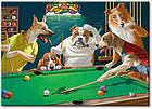 "Картина на холсте YS-Art XP019 ""Собаки в бильярде 2"" 50x70        , фото 2"