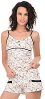 Жіноча піжама майка+шорти 0181/134, фото 1