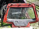Крышка багажника со стеклом Mazda 323 BG 1988-1994 г.в. купе красная, фото 2