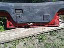 Крышка багажника со стеклом Mazda 323 BG 1988-1994 г.в. купе красная, фото 3