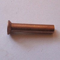 DIN 661 Заклёпка медная Ø2