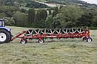 Колесно–пальцевые грабли (валкообразователи) серии «MAGNUM MKE-PRO» Sitrex Италия (шириной захвата до 11,4 м), фото 9