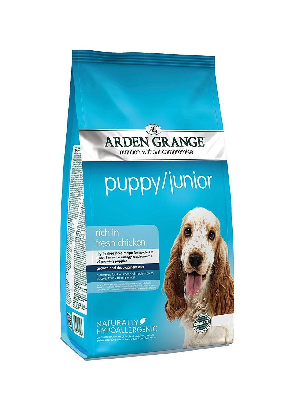 Arden Grange Puppy/Junior (Арден Гранж Паппи/Юниор) - корм  для щенков 12 кг
