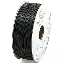 Пластик в котушці PLA 1,75 мм 1,185кг/400м Plexiwire Чорний