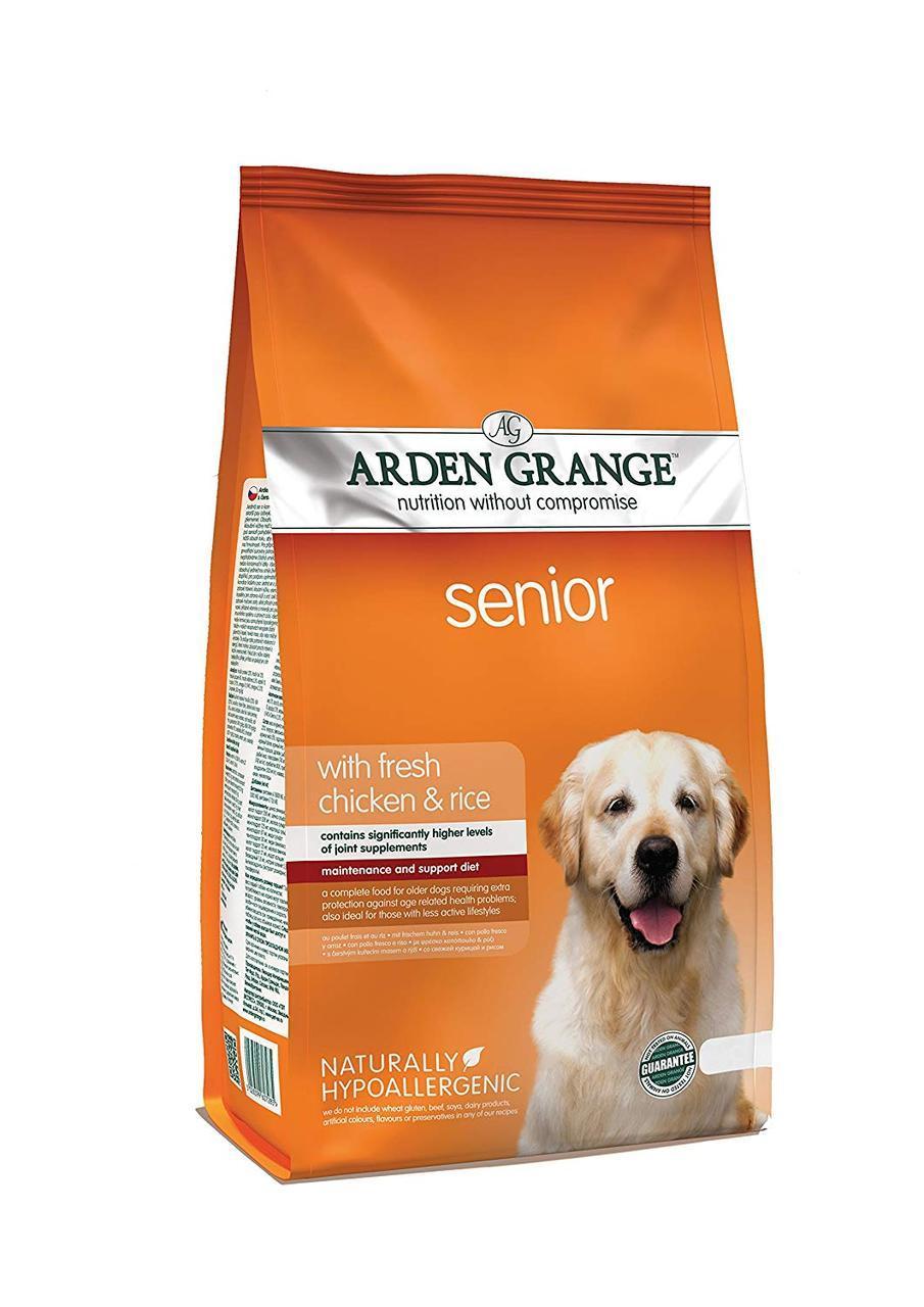 Arden Grange Adult Dog Senior ( Арден Гранж Адалт Дог Сеньйоре ) - корм для старіючий собак 6 кг