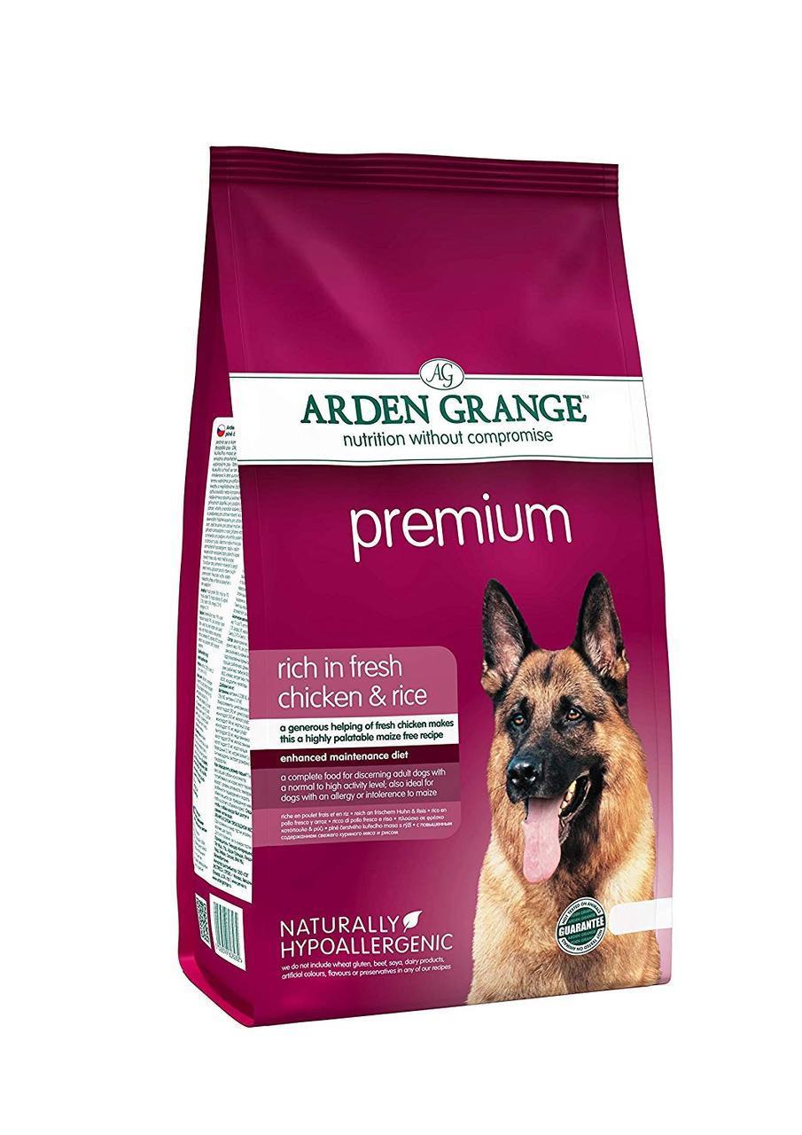Arden Grange Adult Dog Premium (Арден Гранж Адалт Дог Премиум ) - корм для привередливых собак 12 кг