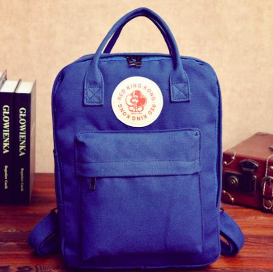 Рюкзак молодежный городской сумка Red King Синий