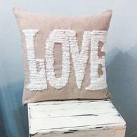 Авторская интерьерная подушка ручной работы