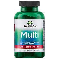 Swanson Витамины для женщин серьезные ПРЕМИУМ 90 табл