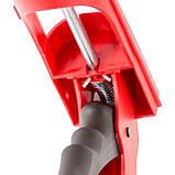 Пистолет для выдавливания силикона, усиленный пластик INTERTOOL HT-0027, фото 4