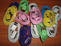 IPhone iPod iPad Кабель USB цветной универсальный передача данных зарядка цвет color    Нужная в хозяйстве ябл