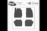Резиновые коврики (4 шт, Stingray Premium) - Ford Fiesta 2008-2017 гг.